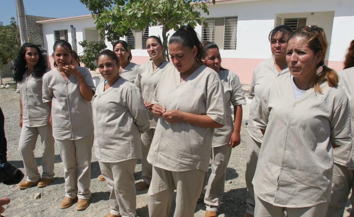 Internas del Centro Penitenciario de las Islas Marías