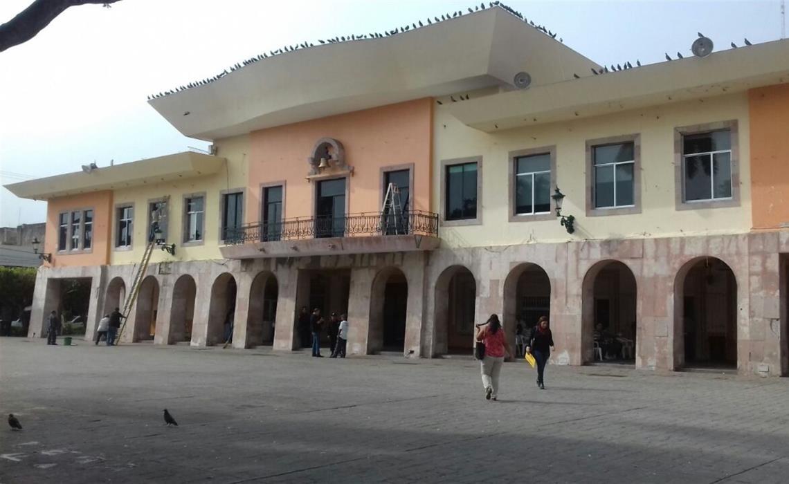 En el Ayuntamiento de Mazatlán siguen los recortes. FOTO: Ana Lidia Avilés.