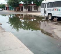 Denuncian desatención de Japama por drenajes colapsados