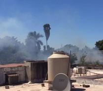 Piden que se ponga un alto a quema de basura en el ejido México