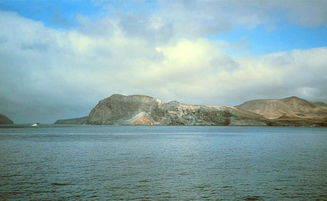 Costa de la Isla Guadalupe. FOTO: Wikipedia.