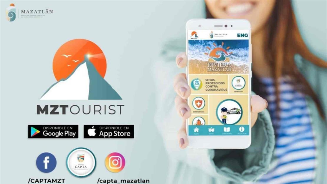 Nueva versión de la aplicación MZTourist ofrece mayor atención y servicios