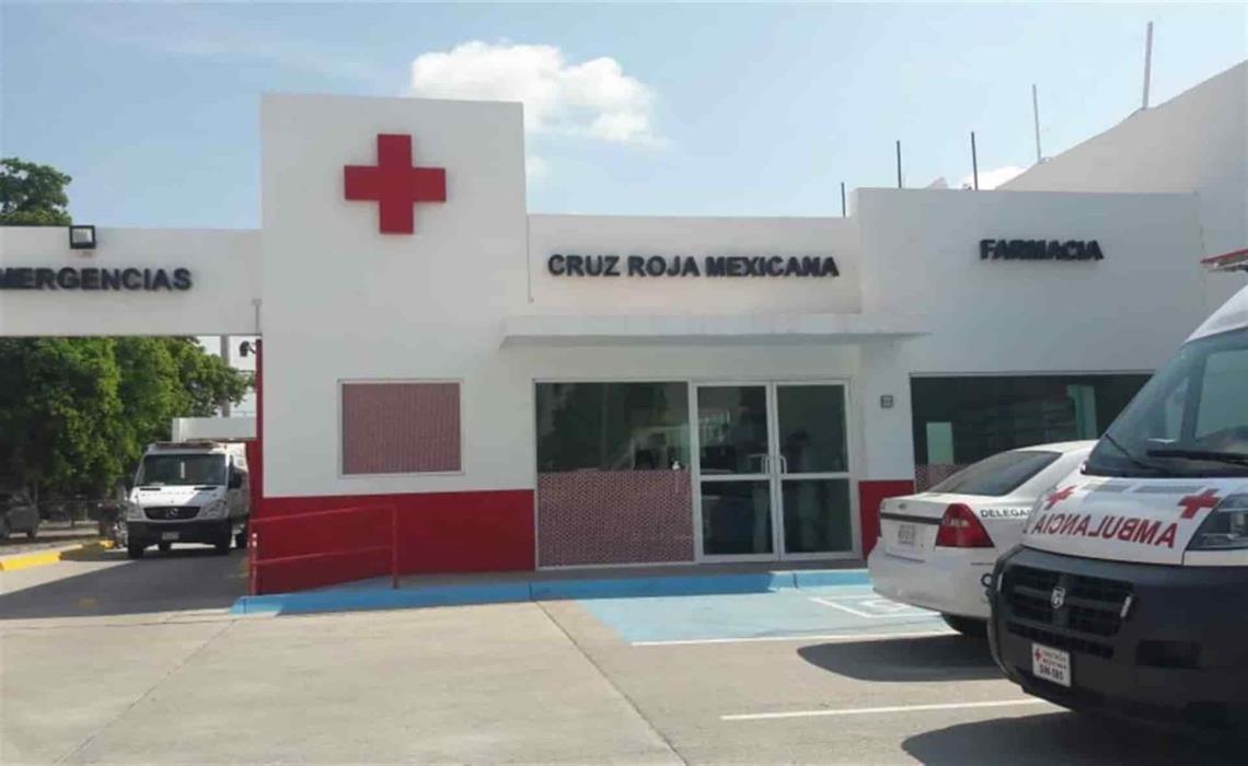 Los lesionados fueron trasladados a la base de Cruz Roja en la Villa de Ahome. FOTO: Luz Noticias | Archivo.