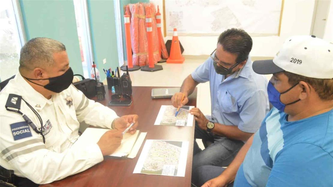 Modifican temporalmente rutas de camiones urbanos por obras en el Centro de Mazatlán