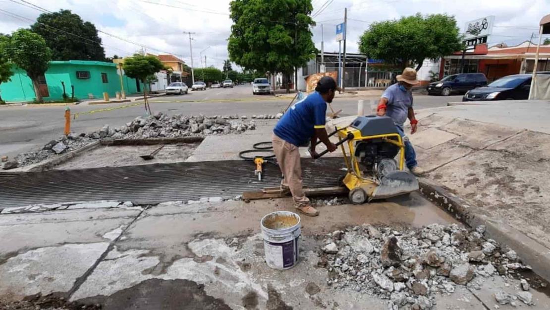 Dificulta el Ayuntamiento de Guasave por aparecimiento de más baches
