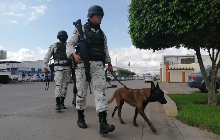 Implementan operativo policiaco en inmediaciones del Congreso del Estado