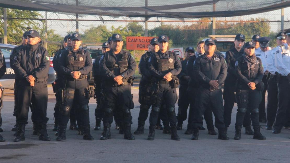 Aumentan el sueldo a policías municipales de Navolato