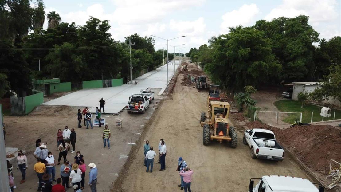 Asegura alcaldesa que Ayuntamiento de Guasave optimiza recursos en obras de calidad