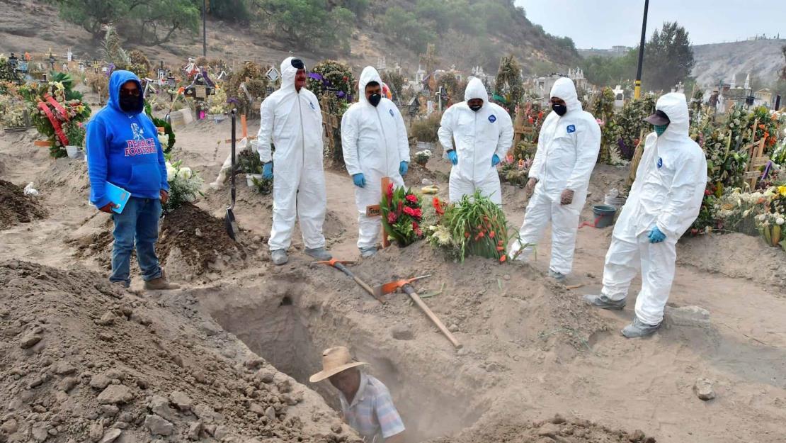 México alcanza las 85 mil 704 muertes por Covid-19