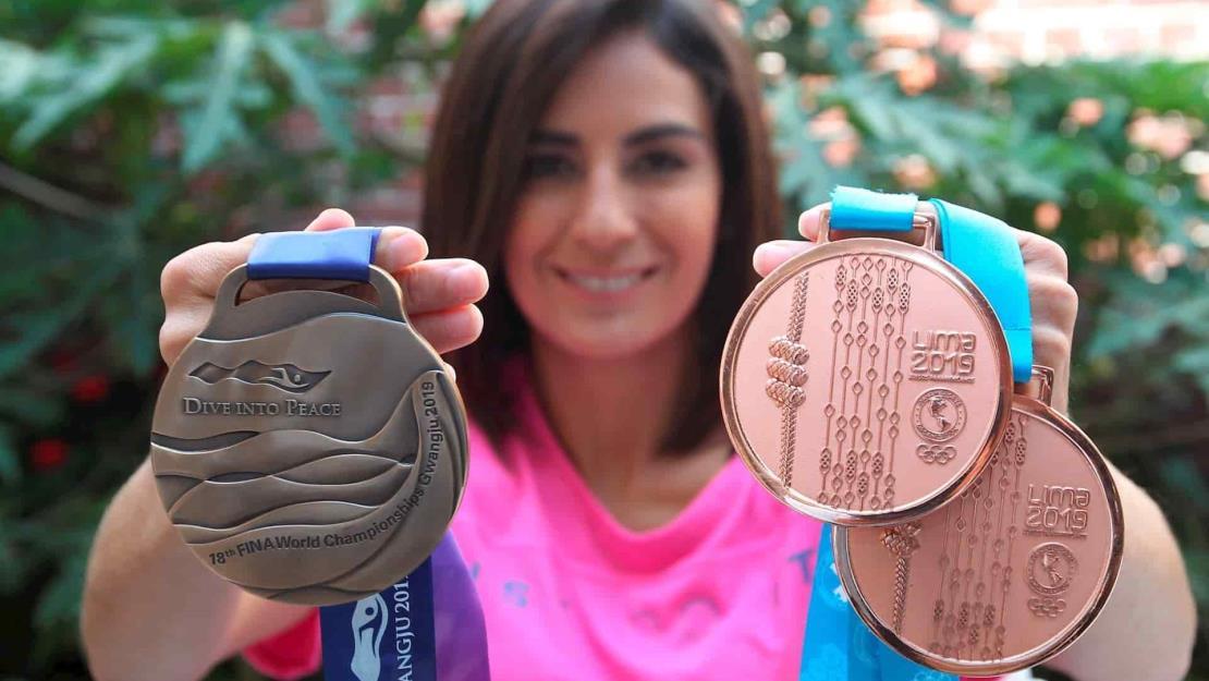 Paola Espinosa cree estar en el camino de su tercera medalla olímpica