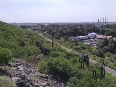 Con pistola en mano, asaltan a una joven en el Cerro de La Memoria