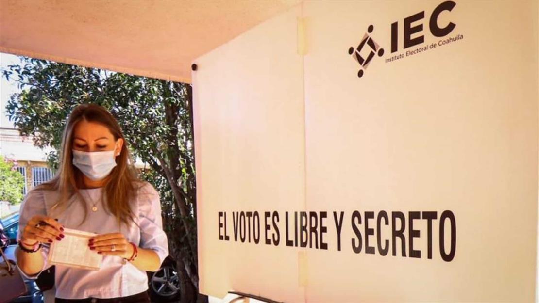 PRI mantiene ventaja en Coahuila al cierre del PREP