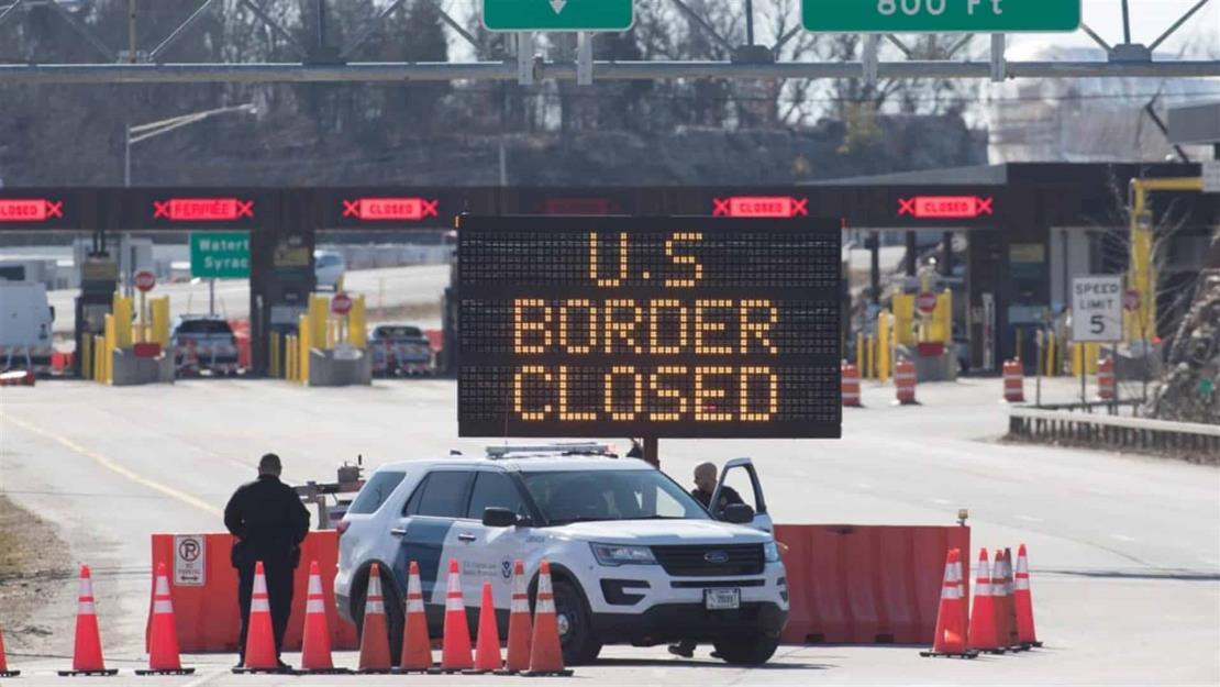 Canadá mantendrá cerrada la frontera con EUA hasta el 21 de noviembre