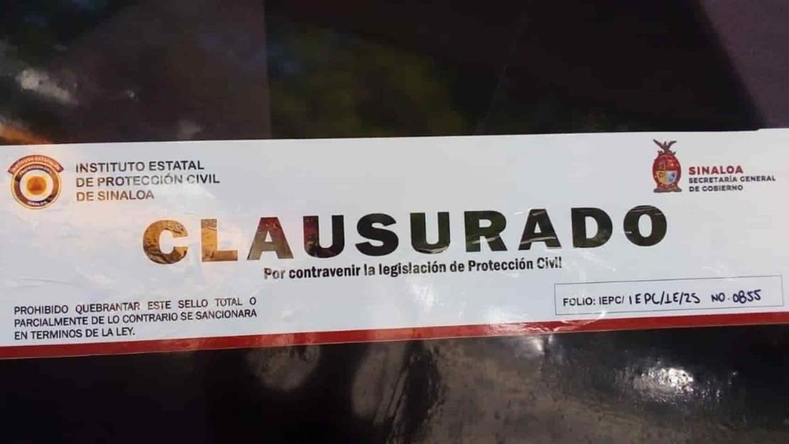 Suspenden un restaurante y dos antros por no cumplir protocolos sanitarios en Mazatlán