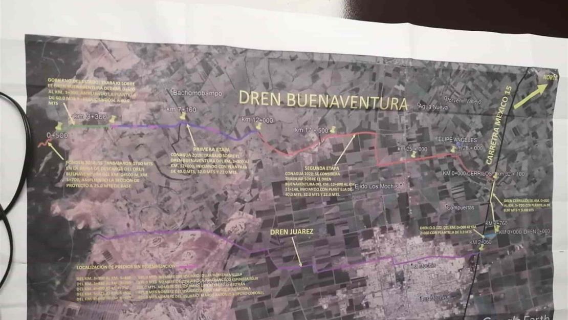 Desviación del dren Juárez no representa riesgo para nadie: Conagua