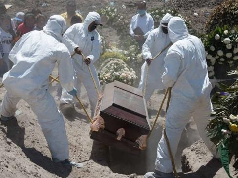 Se registran 10 nuevos decesos por Covid-19 en Sinaloa