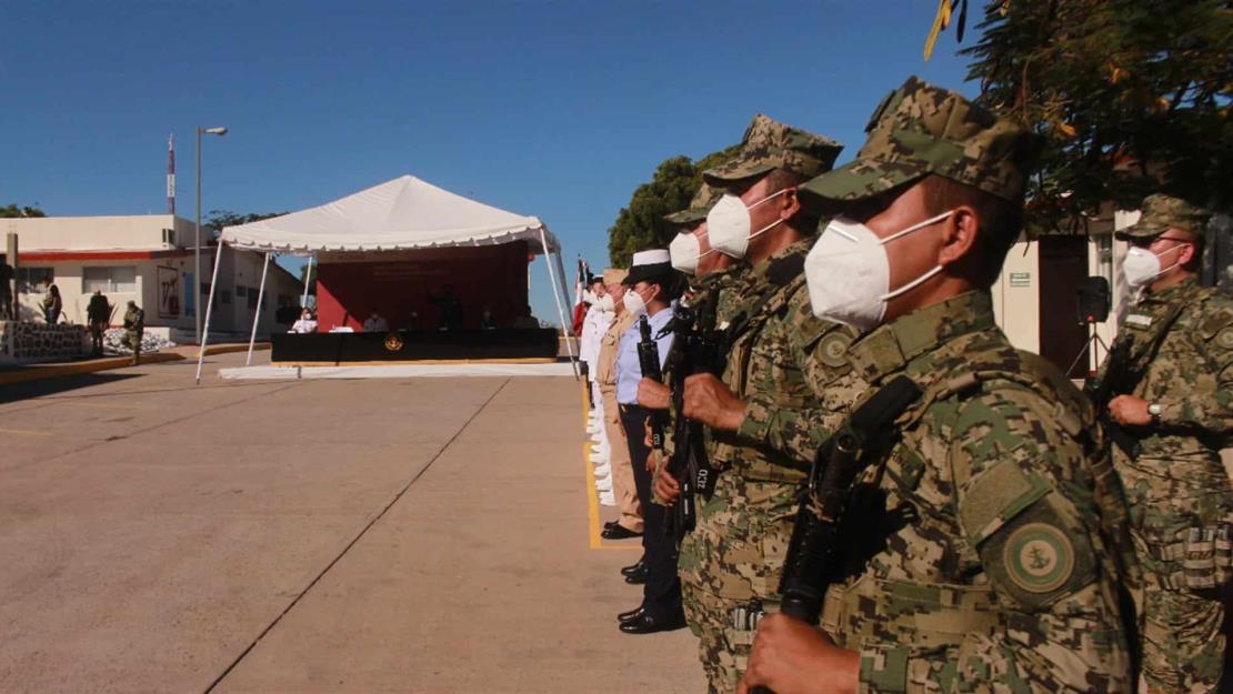 Conmemoran Día de la Armada de México en el Sector Naval de Topolobampo