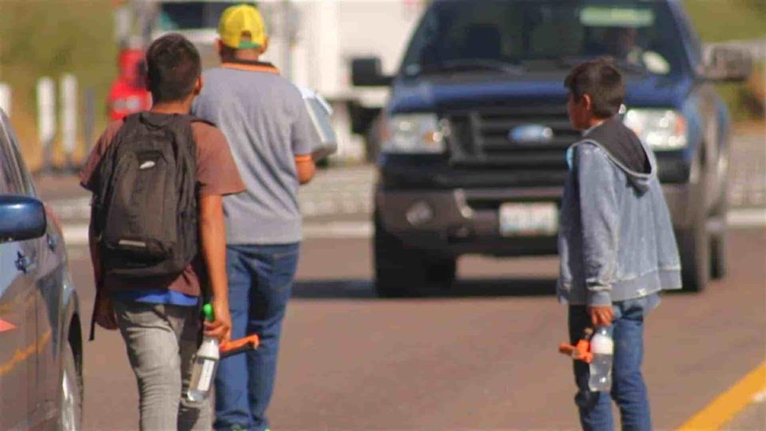 Incrementa número de infantes pedigüeños en calles de Los Mochis