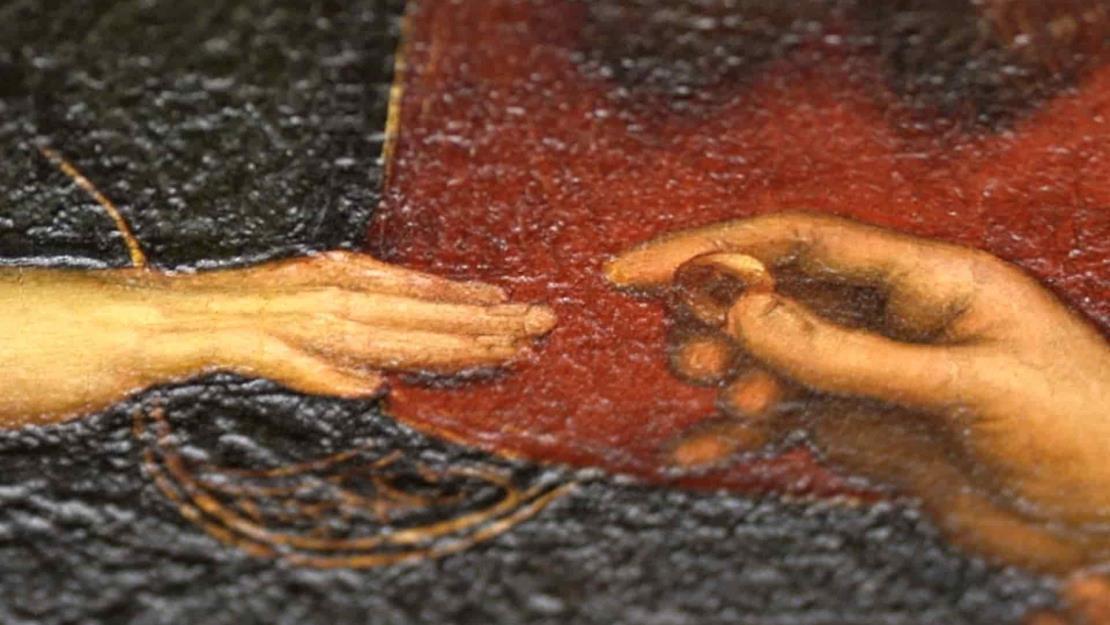 Clonan el cuadro Los desposorios de la Virgen de Rafael