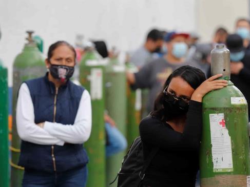 México reporta mil 539 nuevos decesos y 20 mil 548 contagios de Covid-19