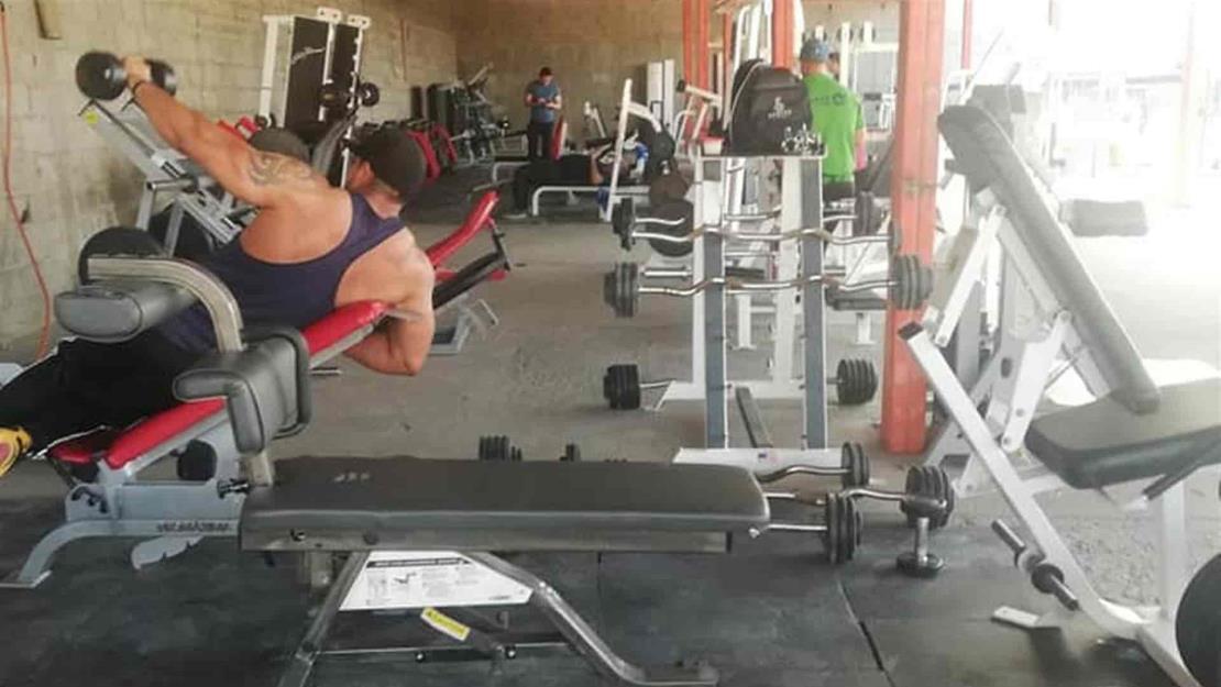 Supervisan que gimnasios cumplan con protocolos anticovid