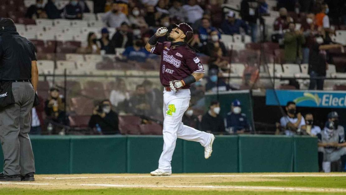 Sebastián Elizalde es designado el MVP de la Liga Mexicana del Pacífico