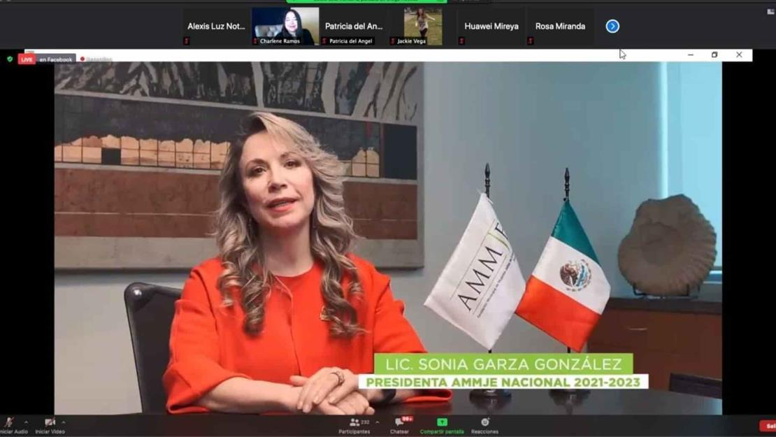 AMMJE elige a Sonia Garza González como su presidente nacional