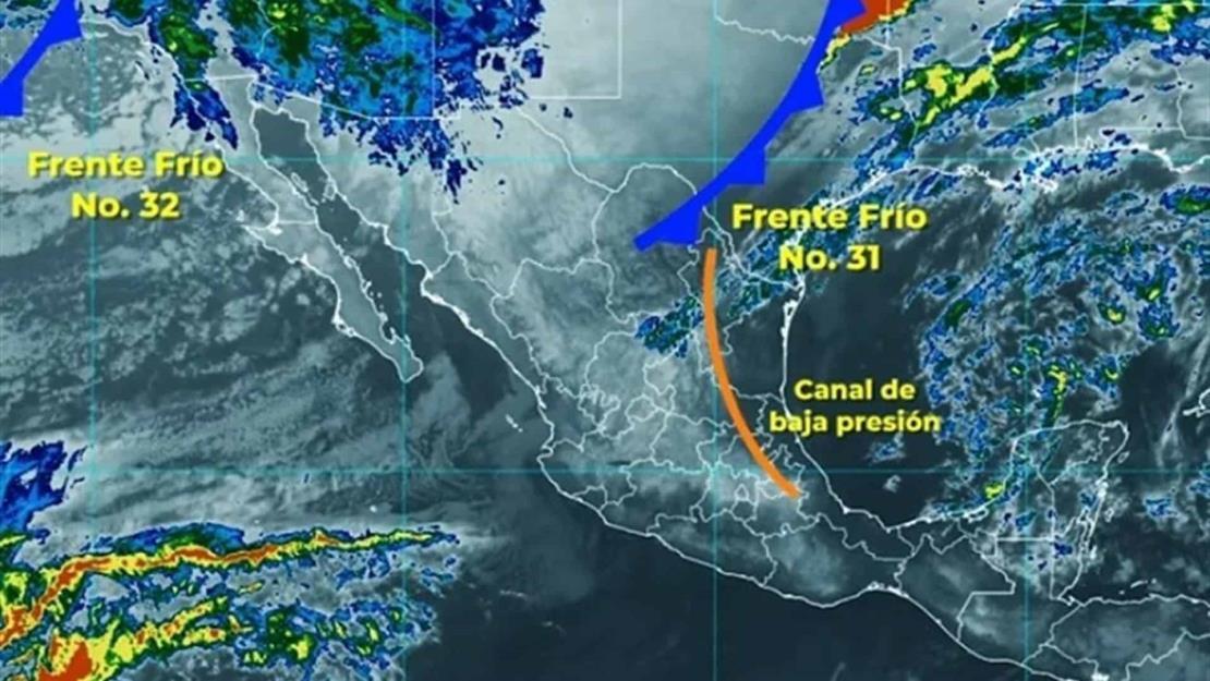 Ingresa frente frío no. 31; bajarán las temperaturas en Sinaloa