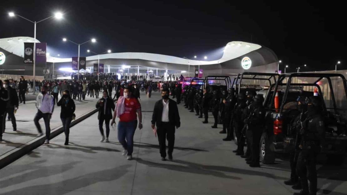 Protección Civil Mazatlán avala evento masivo en estadio de futbol