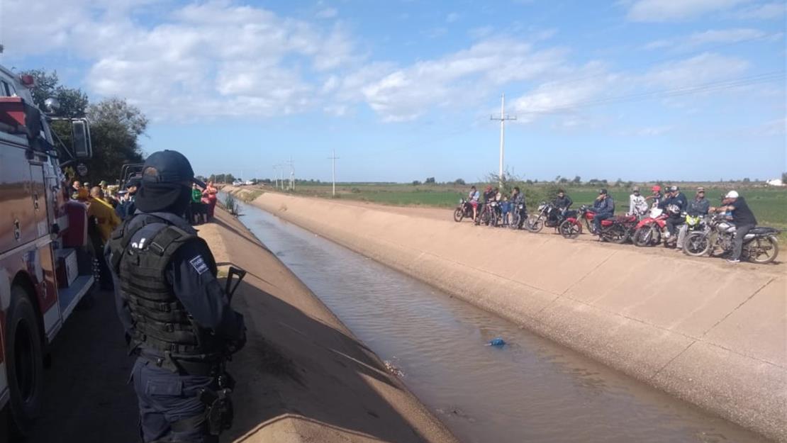 Localizan sin vida a un hombre en canal de riego en Mocorito