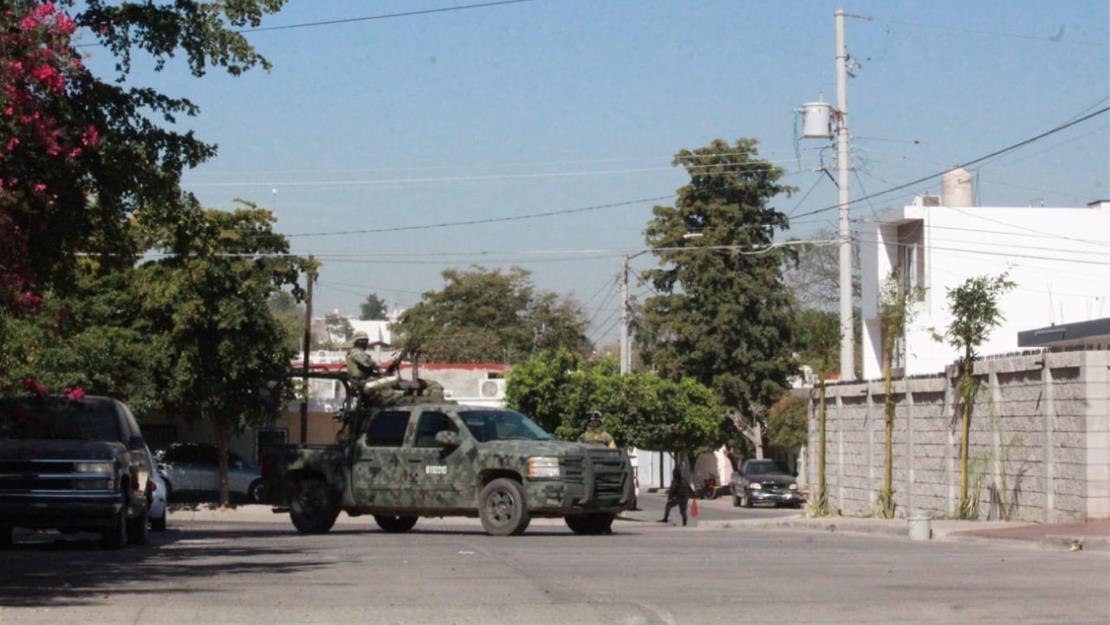 Ejército asegura dos inmuebles utilizados como narco laboratorios en Culiacán