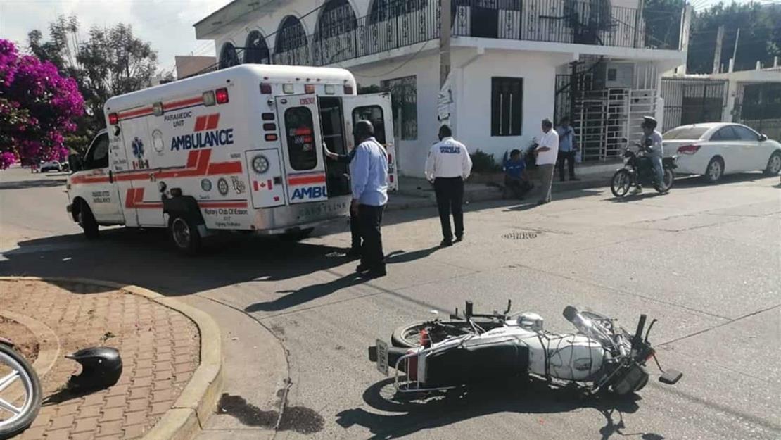 A diario se registran accidentes de motocicleta en Mazatlán.
