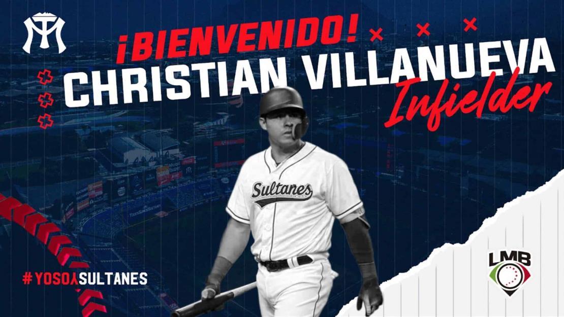 Sultanes anuncia la llegada de Christian Villanueva
