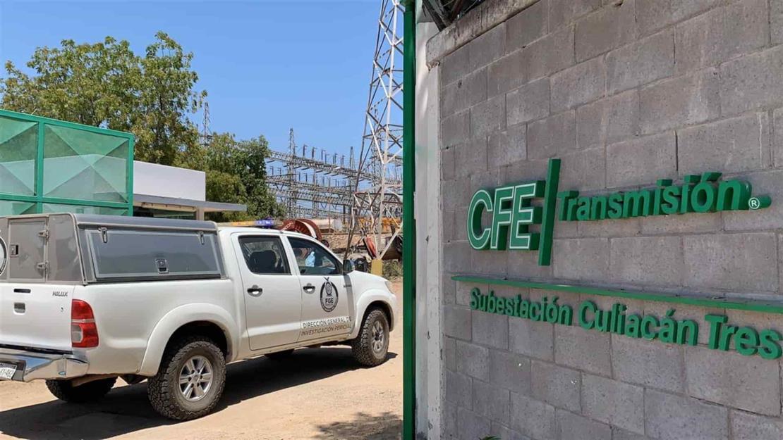 Localizan hombre, al parecer electrocutado, en subestación de la CFE en Culiacán
