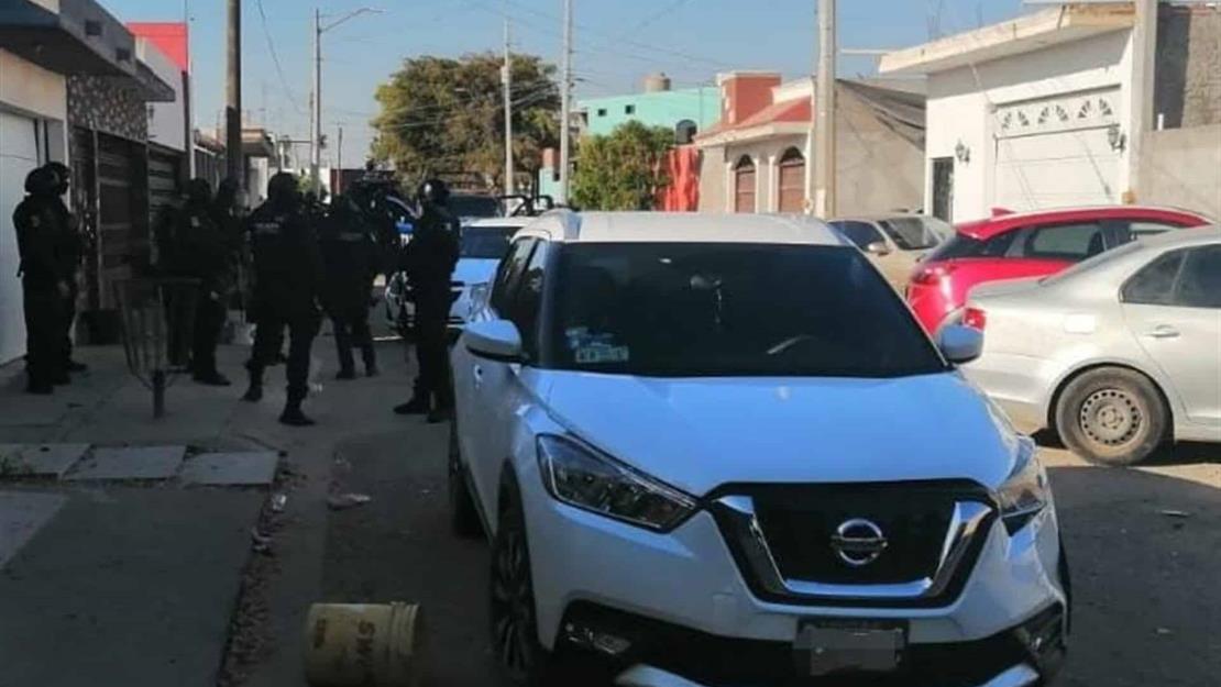 BOMU recupera camioneta robada a mano armada en la autopista Benito Juárez