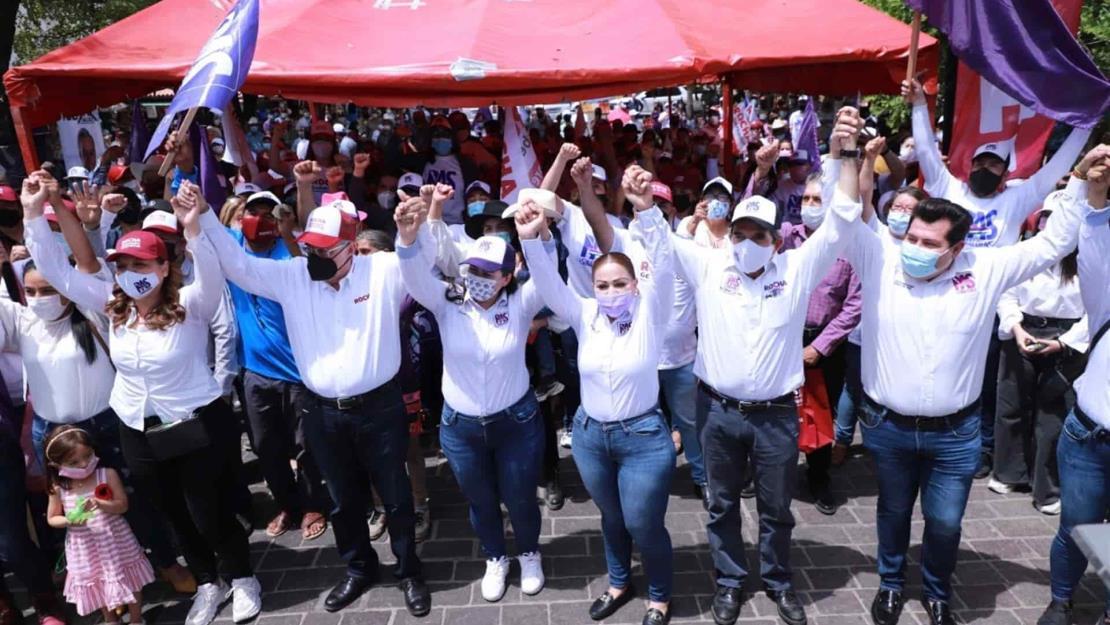 Morenistas y pasistas se hermanan para consolidar la 4T en Sinaloa: Rubén Rocha Moya