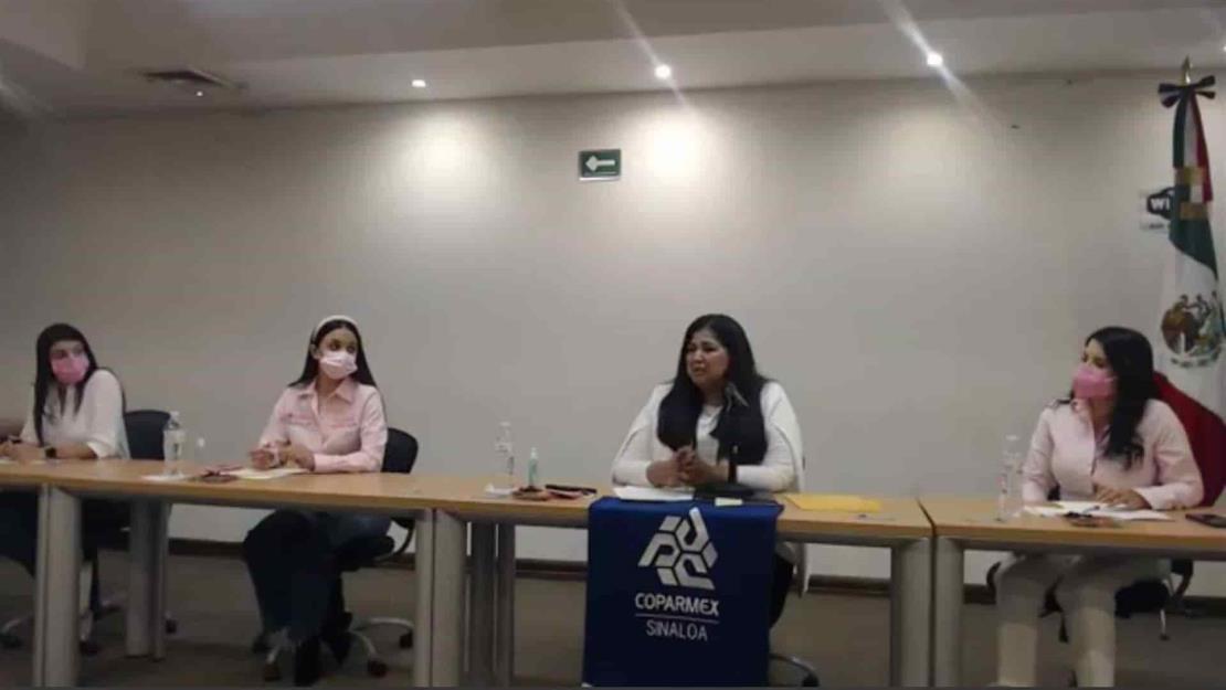 Se reúne Rosa Elena Millán con miembros de Coparmex Sinaloa