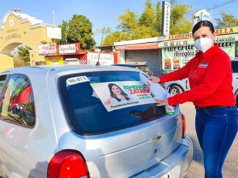 Esmeralda Zatarain renuncia a la candidatura por la alcaldía en Concordia