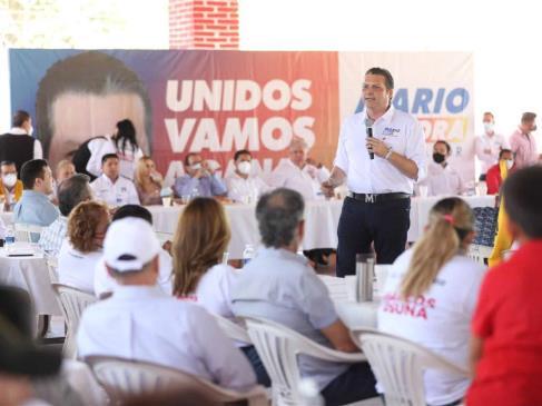 Mario Zamora, listo para debatir el 22 de abril