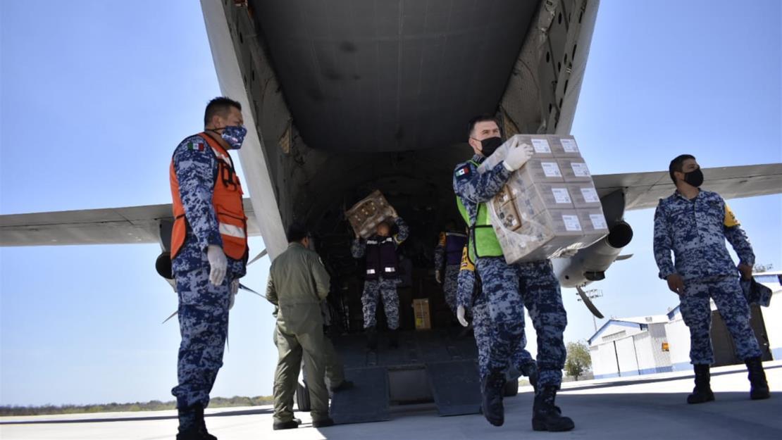 Llegan a Sinaloa 66 mil 690 vacunas Pfizer para adultos y personal de salud