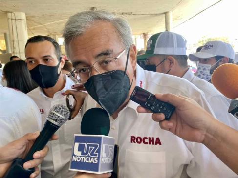 Coparmex puede agarrar partido, pero que no me quiera emplazar: Rocha Moya