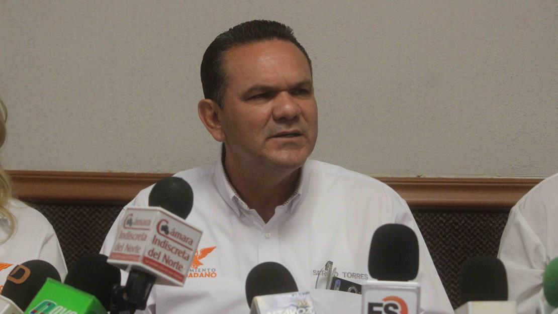 Descarta Sergio Torres que vaya a  declinar a favor de otro candidato a la gubernatura