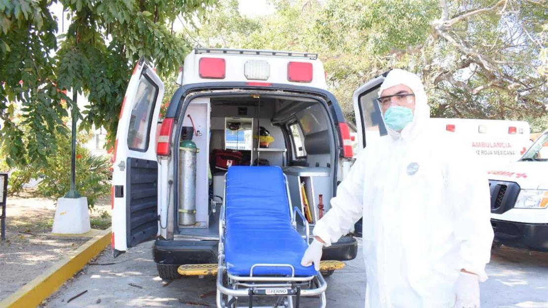 Cruz Roja llama a la ciudadanía a no omitir el Covid-19 al pedir ambulancia