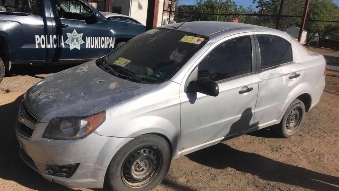 BOMU recupera en Choix un vehículo robado en Los Mochis