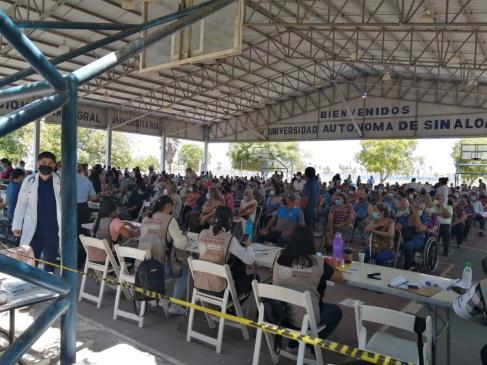 Del 17 al 20 de mayo inicia en Ahome vacunación a personas de 50 años y más