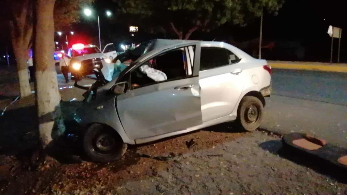Choque frente al penal de Aguaruto deja un muerto y un lesionado grave