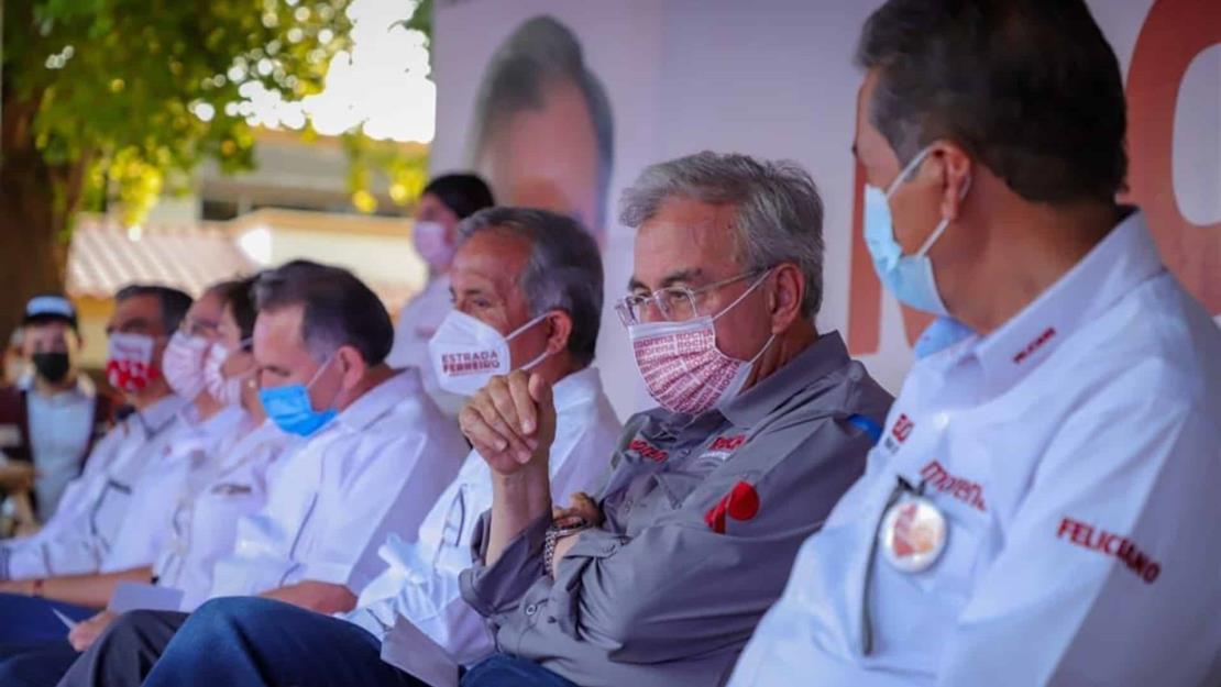Rocha Moya propone mejorar sueldos y prestaciones a policías