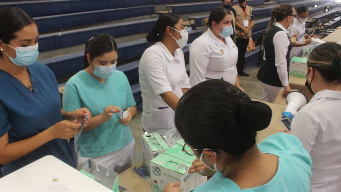 Este miércoles inicia la vacunación a personas de 50 años en Salvador Alvarado