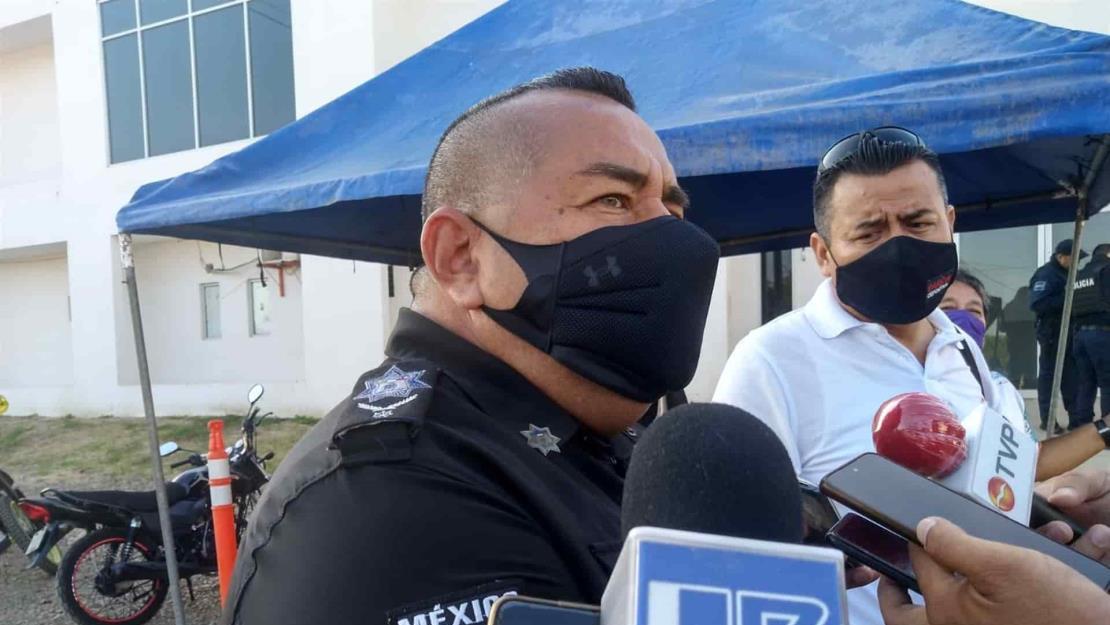 Se contagian de Covid-19 cinco cadetes de la Policía Municipal en Mazatlán