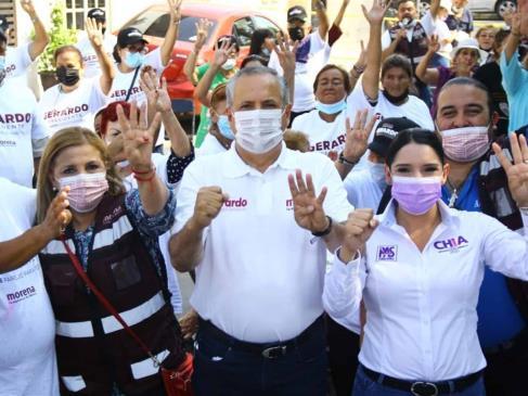 Vargas Landeros confía en que la ciudadanía lo elegirá como el próximo alcalde de Ahome